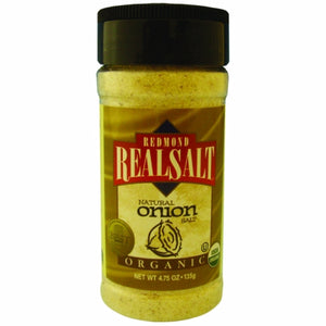 Organic Onion Salt 4.7 Oz by REAL SALT (4754053267541)