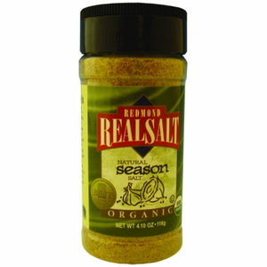 Organic Season Salt 4.1 Oz by REAL SALT (4754053365845)