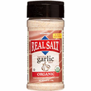 Organic Garlic Salt 8.25 Oz by REAL SALT (4754053398613)
