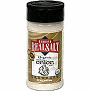 Organic Onion Salt 8.25 Oz by REAL SALT (4754053529685)