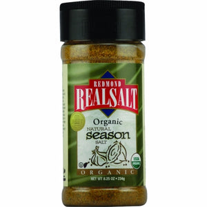 Organic Season Salt 8.25 Oz by REAL SALT (4754053562453)