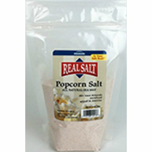 Real Salt Popcorn Salt 10 Oz by REAL SALT