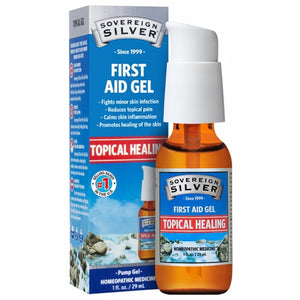 Silver First Aid Gel 1 Oz by Sovereign Silver (4754053857365)