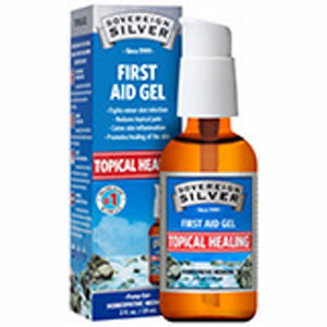 Silver First Aid Gel 2 Oz by Sovereign Silver (4754053955669)