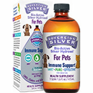 Bio-Active Silver Hydrosol for Pets 16 Oz by Sovereign Silver (4754054447189)