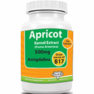 Apricot Kernel Extract 100 Caps by Oxylife Products (4754056249429)