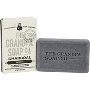 Grandpa's Soap Charcoal 1.35 Oz by Grandpa's Brands Company (4754057166933)