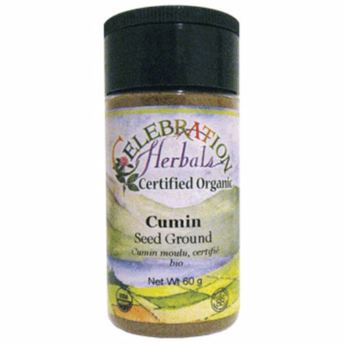 Cumin Seed Ground Organic 48 grams by Celebration Herbals