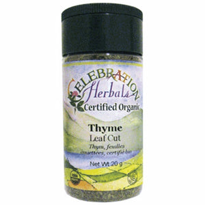 Thyme Leaf Cut 22 grams by Celebration Herbals (4754064244821)