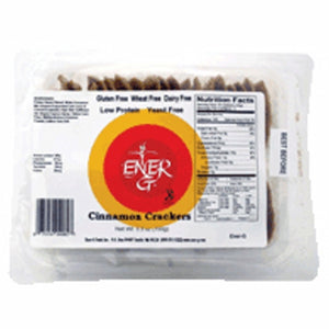 Cinnamon Crackers 5.92 Oz by Ener-G (4754064703573)