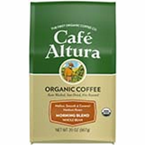Morning Blend Whole Bean Coffee 1.25 lbs by Cafe Altura