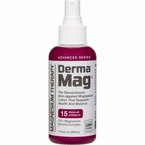 DermaMag 15 Advanced Magnesium Oil 3 Oz by Magnesium Direct