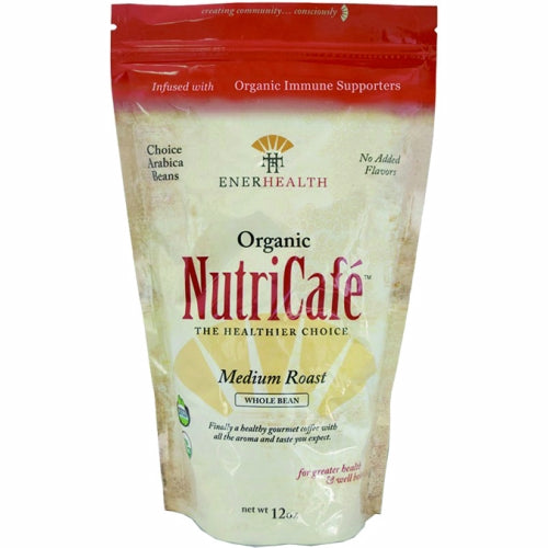 Nutricafe Organic Whole Bean Coffee 12 Oz by Enerhealth Botanicals