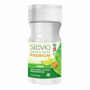 Lime Stevia Powder 1.6 Oz by Anumed International (4754080661589)