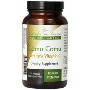 Camu Camu 120 Veg Caps by Harmonic Innerprizes (formerly Etherium Tech) (4754081939541)