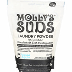 Laundry Powder Unscented 47 Oz by Molly's Suds (4754082431061)