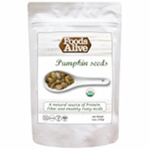 Organic Pumpkin Seeds 12 Oz by Foods Alive (4754084593749)