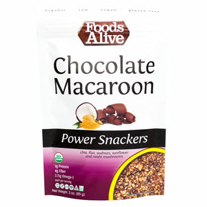 Organic Chocolate Macaroon Snacker 3 Oz by Foods Alive (4754084692053)