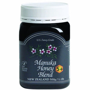 Manuka Honey Blend 5+ 17.6 Oz by Pacific Resources International (4754085904469)