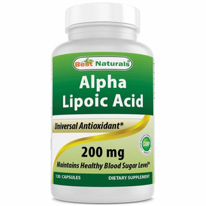 Alpha Lipoic Acid 120 Caps by Best Naturals (4754092556373)