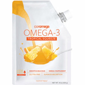 Omega 3 Squeeze Tropical 16 Oz by Coromega (4754095865941)