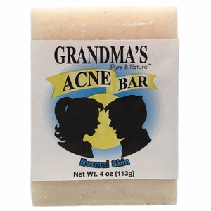 Acne Bar for Normal Skin 4 Oz by Grandmas Pure & Natural (4754096554069)