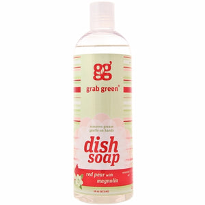 Liquid Dish Soap Red Pear 16 Oz by Grab Green (4754097471573)