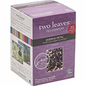 Jasmine Petal Green Tea 15 Bags by Two Leaves And A Bud (4754099699797)
