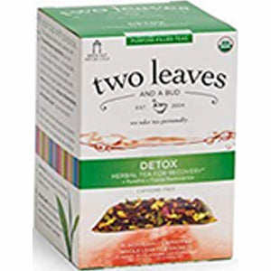 Organic Detox Tea 15 Bags by Two Leaves And A Bud (4754099896405)