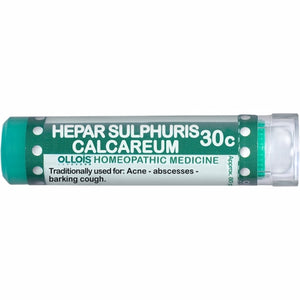 Hepar Sulphuris Calcareum 30C 80 Count by Ollois (4754100846677)