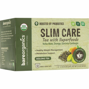 Slim Care Tea K-Cups 12 Count by Bare Organics (4754103468117)