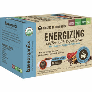 Energy Coffee K-Cups 12 Count by Bare Organics (4754103599189)