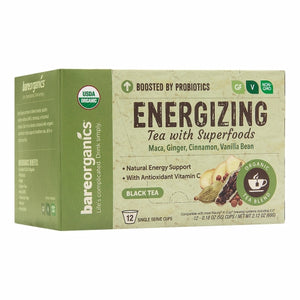 Energy Tea K-Cups 12 Count by Bare Organics (4754103631957)