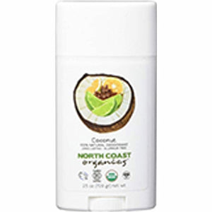 Coconut Organic Deodorant 2.5 Oz by North Coast Organics (4754103959637)