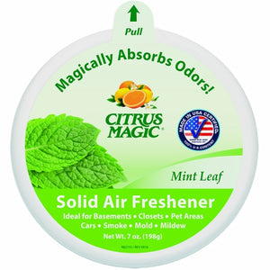Mint Solid Air Freshener 7 Oz by Citrus Magic (4754106155093)