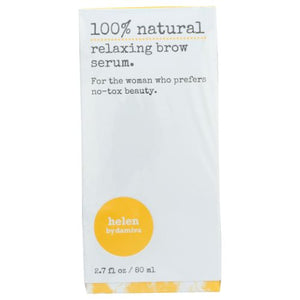 100% Natural Relaxing Brow Serum 2.7 Oz by Damiva