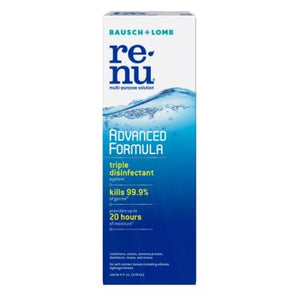 Bausch + Lomb ReNu Advanced Formula Multi-Purpose Solution 4 Oz by Bausch And Lomb (4754218647637)