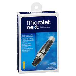Microlet Next Lancing Device 1 Each by Microlet (4754257576021)
