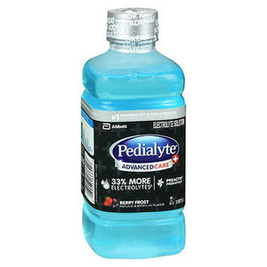 Pedialyte Advanced Care Berry Frost 33.8 Oz by Pedialyte (4754258100309)