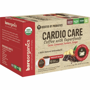 Cardio Care Coffee K Cup 12 Count by Bare Organics (4754275565653)