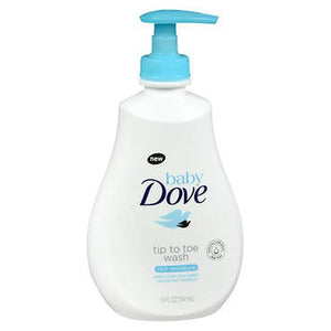 Baby Dove Tip To Toe Wash Rich Moisture 13 Oz by Axe (4754292244565)