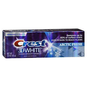 Crest 3D White Fluoride Anticavity Toothpaste Icy Cool Mint 3 Oz by Crest (4754293129301)