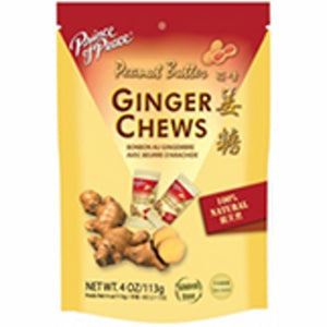 Ginger Chews Peanut Butter 4 Oz by Prince Of Peace (4754300895317)