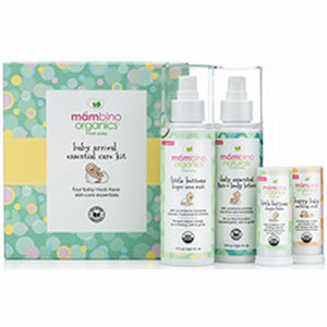 Baby Arrival Essential Care Kit 4 Piece by Mambino Organics (4754301255765)