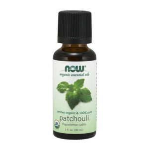 Organic Patchouli Oil 1 Oz by Now Foods (4754307776597)
