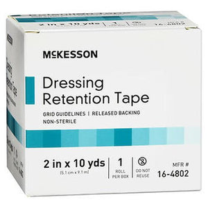 McKesson Dressing Retention Tape Roll 2 in x 10 yds 1 Each by McKesson (4754310070357)