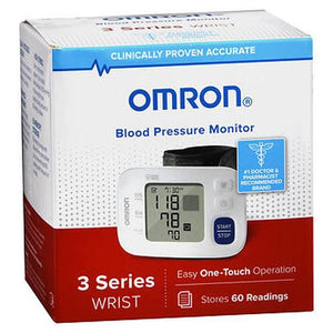 Omron Blood Pressure Monitor 3 Series Wrist BP6100 1 Each by Omron (4754310594645)