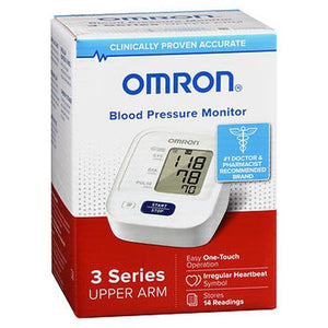 Omron 3 Series Upper Arm Blood Pressure Monitor BP7100 1 Each by Omron (4754310627413)