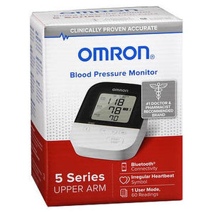 Omron Blood Pressure Monitor 5 Series Upper Arm BP7250 1 Each by Omron (4754310660181)