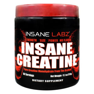Insane Glutamine 11.1 Oz by Insane Labz (4754311839829)